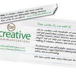 Be Creative Web Banners