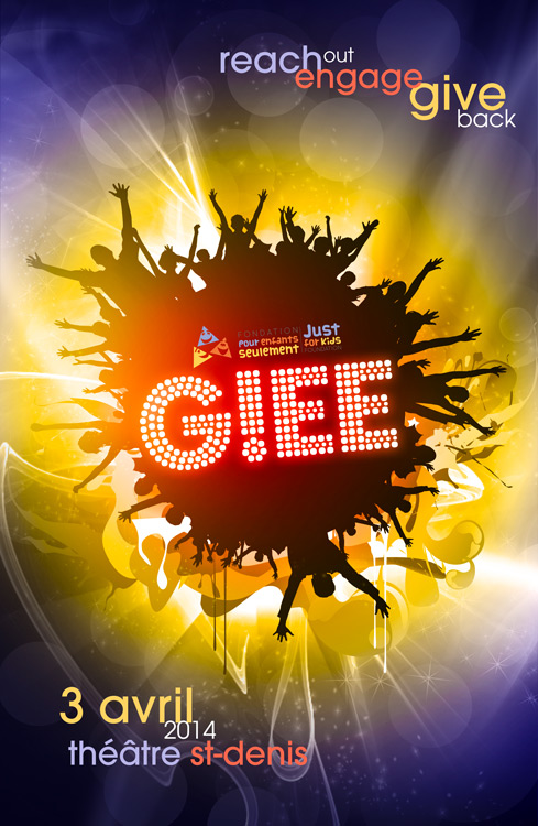 Just for Kids GLEE Poster