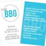 Studio BBG Business Card