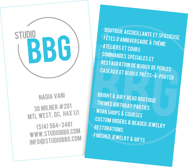 Studio BBG Business Card