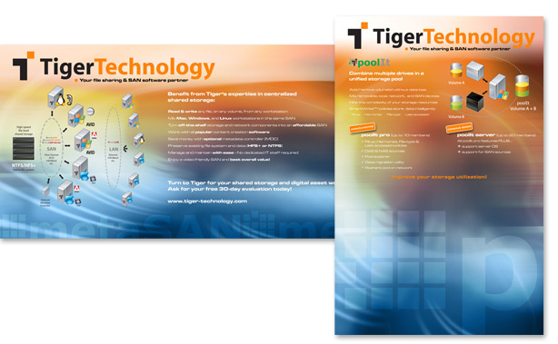 Tiger Technology Trade Show Banners