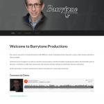 Barrytone Productions Website