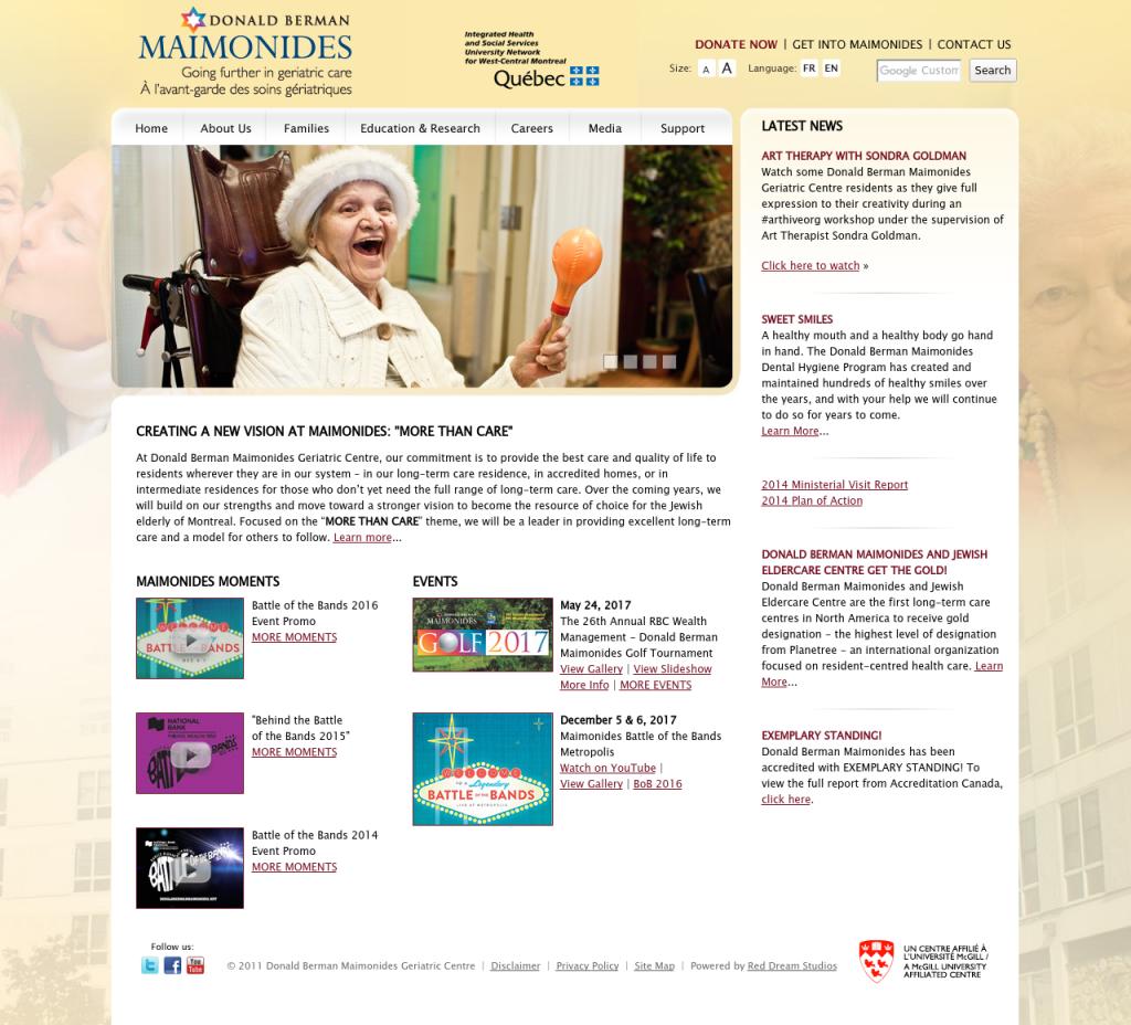Maimonides Website