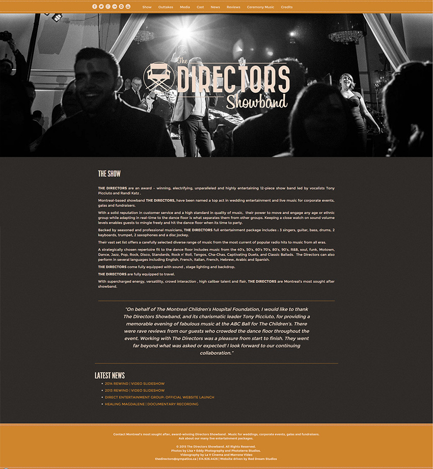 The Directors Website